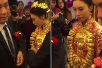 Kết hôn với tỷ phú 70 tuổi, cô dâu 20 tuổi được tặng 20kg vàng