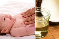 Cách sử dụng dầu massage cho trẻ sơ sinh giúp bé thư giãn và ngủ sâu hơn