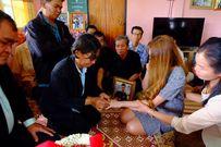 Đám cưới của cô gái trẻ với bạn trai đã qua đời khiến bao người rơi nước mắt