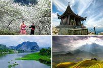 Các điểm du lịch trong và ngoài nước hấp dẫn được nhiều người chọn đến trong dịp Tết 2017