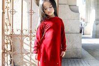 Ngắm những bé gái xinh xắn trong trang phục mùa xuân